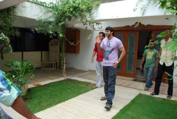 Inside actor Prabhas' lavish home in Hyderabad