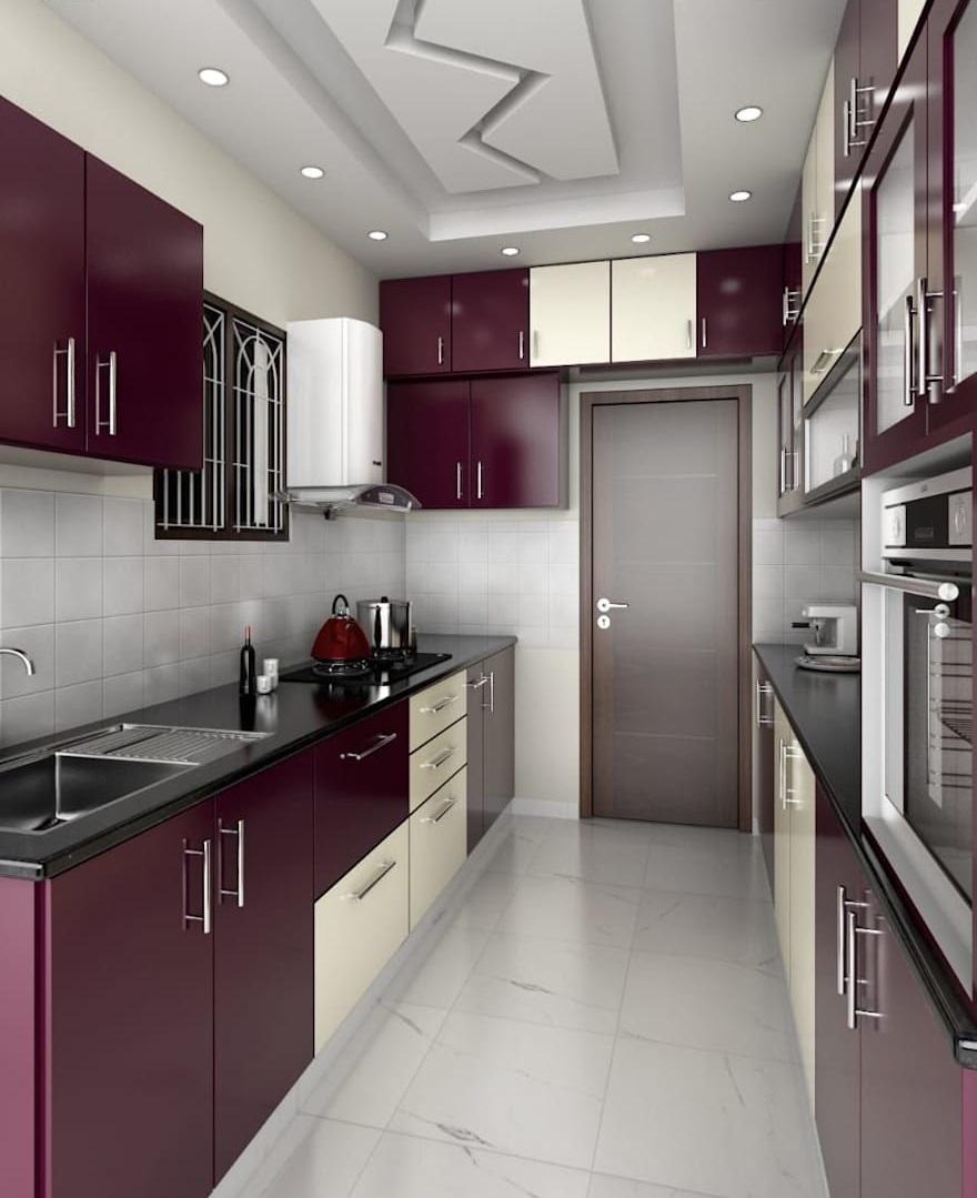 Modern Kitchen false ceiling design ideas Materials, Images ...