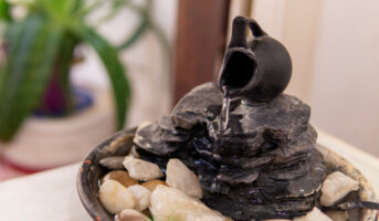 Vastu Shastra tips for water fountains, to bring positive energy
