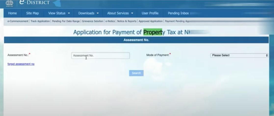 NKDA Property tax