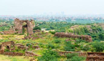 Tughlaqabad Fort Delhi: A landmark of the powerful Tughlaq Dynasty