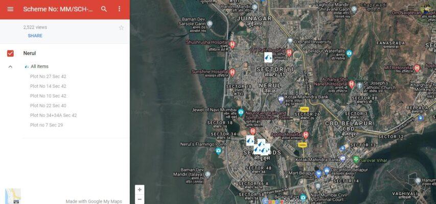 CIDCO e-auction for Navi Mumbai plots on October 6, 2021